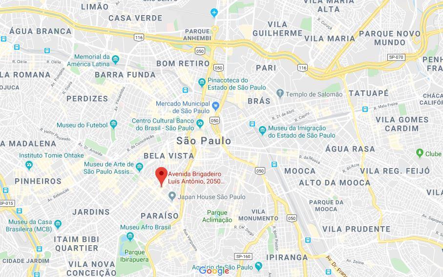 2020-01-13 11_09_03-Av. Brigadeiro Luís Antônio, 2050 - 15° andar - Bela Vista - GoogleMaps
