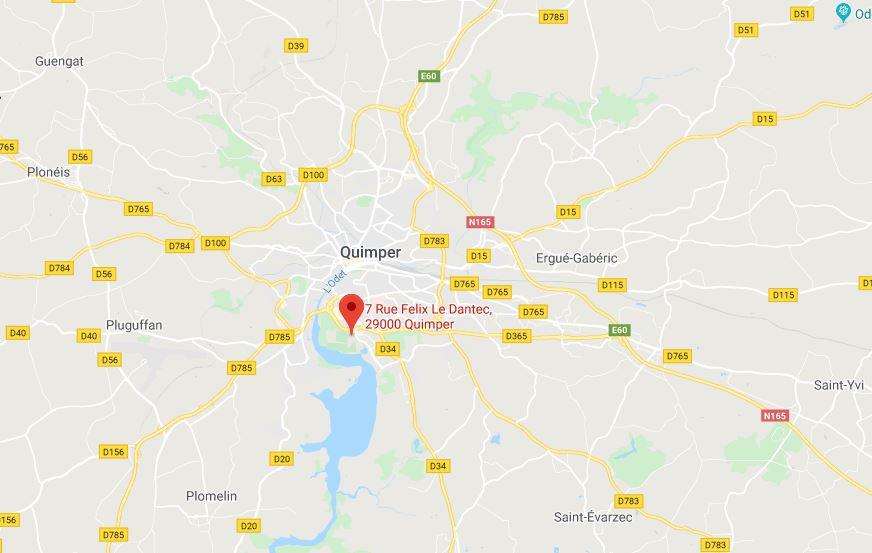2020-01-13 11_38_17-7 Rue Felix Le Dantec, 29000 Quimper - GoogleMaps