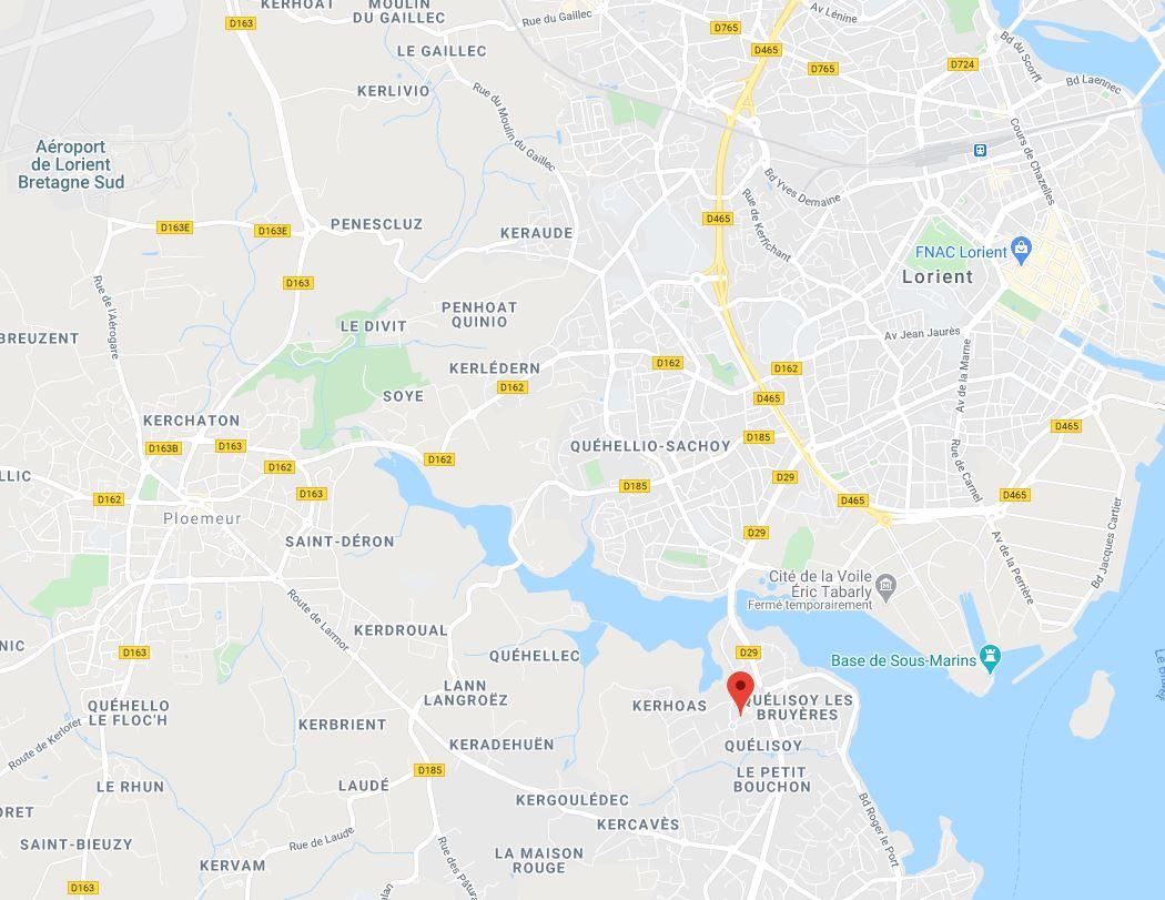 2021-03-26 08_46_13-Plan d'accès _ ECVOLUS - Expert comptable Larmor Ploemeur Lorient Vannes Pontivy